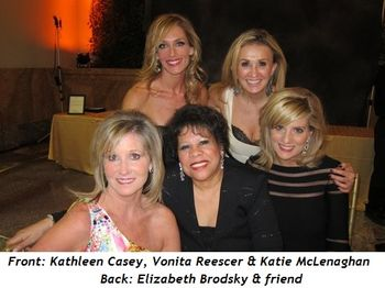 Blog 3 - (Front from L) Kathleen Casey, Vonita Reescer, Katie McLenaghan, (top R) Elizabeth Brodsky and friend