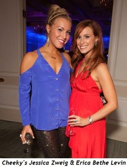 Blog 1 - Cheeky's Jessica Zweig and Erica Bethe Levin