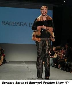 Blog 2 - Barbara Bates at Emerge! Fashion Show NY