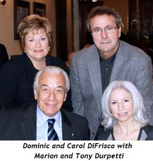 Blog 4 - Marion and Tony Durpetti with Dominic and his wife Carol