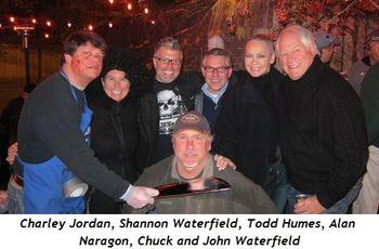 Blog 2 - Charley Jordan, Shannon Waterfield, Todd Humes, Alan Naragon, Chuck, John Waterfield