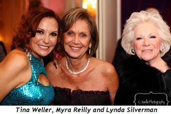 Blog 3 - Tina Weller, Myra Reilly and Lynda Silverman