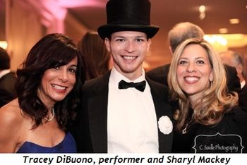 Blog 8 - Tracey DiBuono, performer and Sharyl Mackey