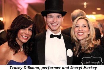 Blog 8 - Tracey DiBuono, performer and Sharyl Mackey