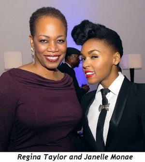Blog 9 - Regina Taylor and Janelle Monae
