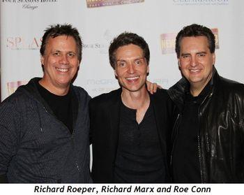 Blog 1 - Richard Roeper, Richard Marx and Roe Conn
