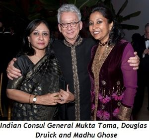 Blog 2 - Indian Consul General Mukta Toma, Douglas Druick and Madhu Ghose