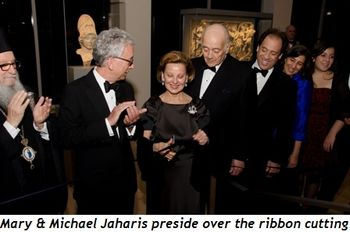 Blog 1 - Mary and Michael Jaharis preside over the ribbon cutting