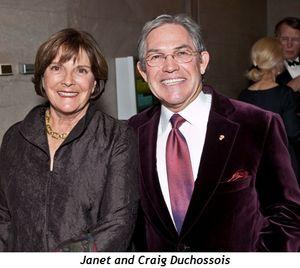 Blog 2 - Janet and Craig Duchossois