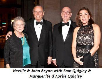 Blog 6 - Neville and John Bryan, Sam Quigley, Marguerite d'Aprile Quigley