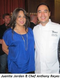 2 - Juanita Jordan and Chef Anthony Reyes