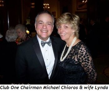 2 - Club One Chairman Michael Chioros and wife Lynda