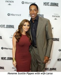 6 - Larsa and Scottie Pippen (honoree)