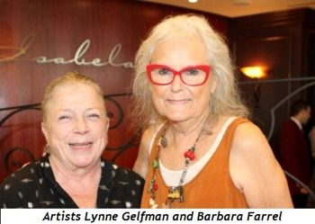 14 - Artists Lynne Gelfman and Barbara Farrel