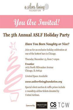 Silver Lining Invite