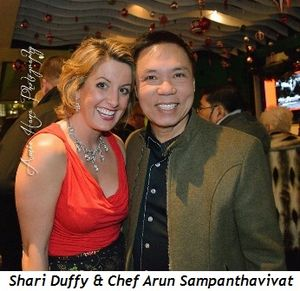 3 - Shari Duffy and Chef Arun Sampanthavivat
