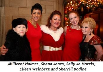6 - Millicent Holmes, Shana Jones, Sally Jo Morris, Eileen Weinberg and Sherrill Bodine