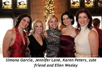 7 - Simona Garcia, Jennifer Lane, Karen Peters, cute friend and Ellen Wesley