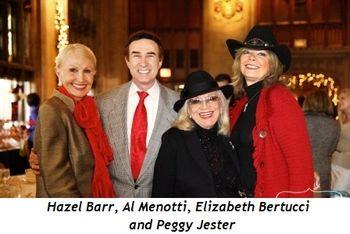 3 - Hazel Barr, Al Menotti, Peggy Jester and Elizabeth Bertucci
