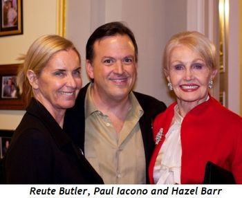 8 - Reute Butler, Paul Iacono and Hazel Barr