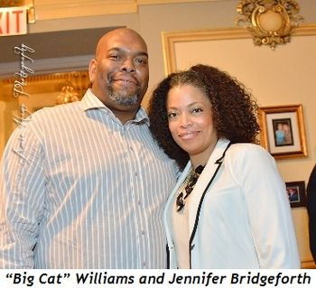 "19 - ""Big Cat"" Williams and Jennifer Bridgeforth"