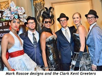 20 - Mark Roscoe designs and the Clark Kent Greeters