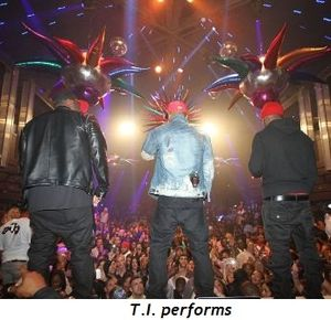 3 - T.I. performs