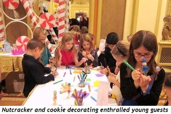 3 - Nutcracker and cookie decorating enthralled young guests