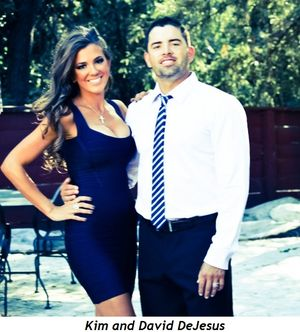 Kim and David DeJesus