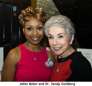 1 - Adiat Baker and Dr. Sandy Goldberg