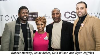 2 - Robert Mackey, Adiat Baker, Otis Wilson and Ryan Jeffries