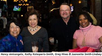 4 - Nancy Amicangelo, Kathy Kalesperis-Smith, Greg Hines and Juancetta Smith-Lindsey