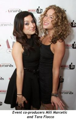 3 - Mili Marcetic and Tara Flocco-event co-producers