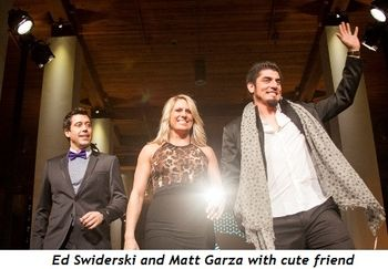 5 - Ed Swiderski and Matt Garza with cute friend