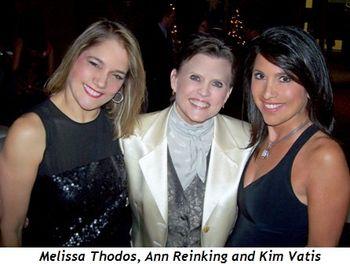 2 - Melissa Thodos, Ann Reinking and Kim Vatis