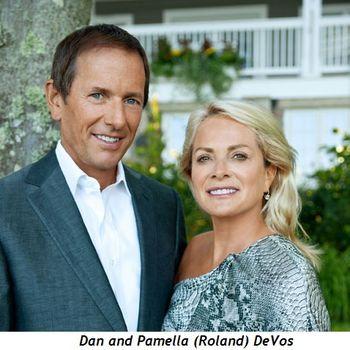 Dan and Pamella DeVos (Roland)
