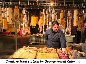 9 - Creative food station by George Jewell Catering