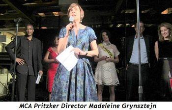 16 - MCA Pritzker Director Madeleine Grynsztejn