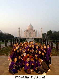 2 - CCC at the Taj Mahal