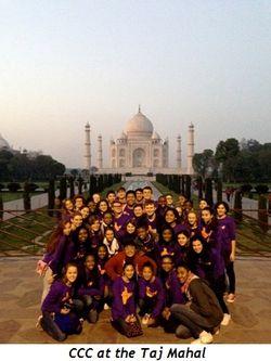 2 - CCC at the Taj Mahal
