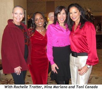 3 - With Rochelle Trotter, Nina Mariano and Toni Canada
