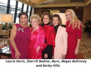 6 - Laurie Davis, Sherrill Bodine, Myra, Megan McKinney and Darby Hills