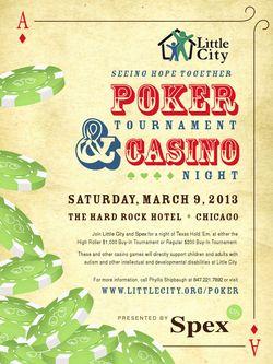 Little City Poker Tourney 3-9