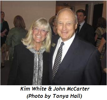 Kim White and John McCarter (Photo by Tonya Hall)
