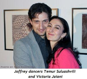 1 - Joffrey dancers Temur Suluashvili and Victoria Jaiani