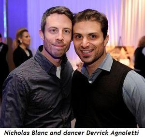 7 - Nicholas Blanc and dancer Derrick Agnoletti
