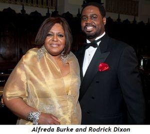 2 - Alfreda Burke and Rodrick Dixon