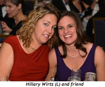 11 - Hillary Wirtz (L) and friend