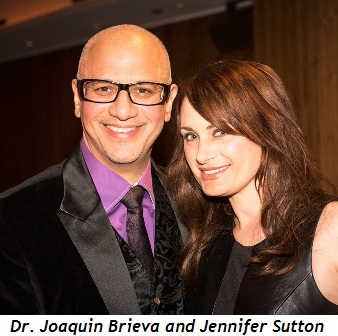 4 - Dr. Joaquin Brieva and Jennifer Sutton