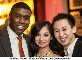 6 - William Heard, Victoria Olivares and Drew Doleaski